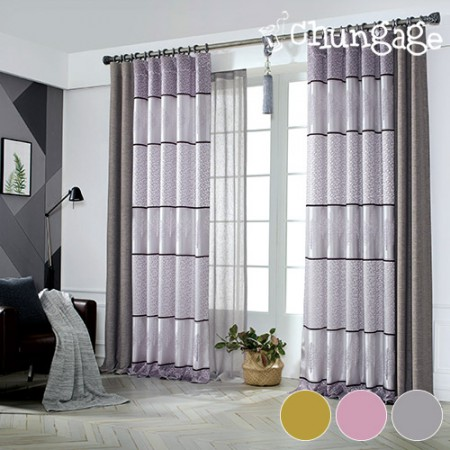 Wide - curtain paper) Sophia (3 kinds)