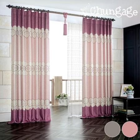 Wide-dark curtains) Arte (2 kinds)