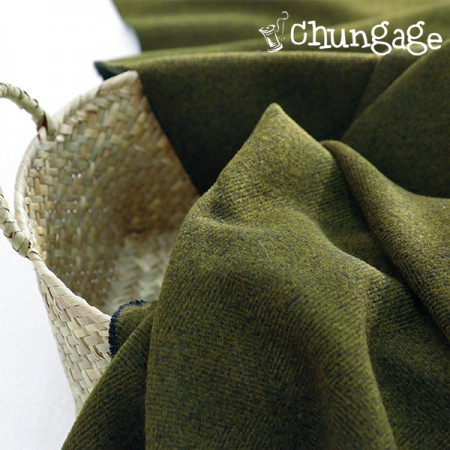 Great-Cashmere) Olive Square
