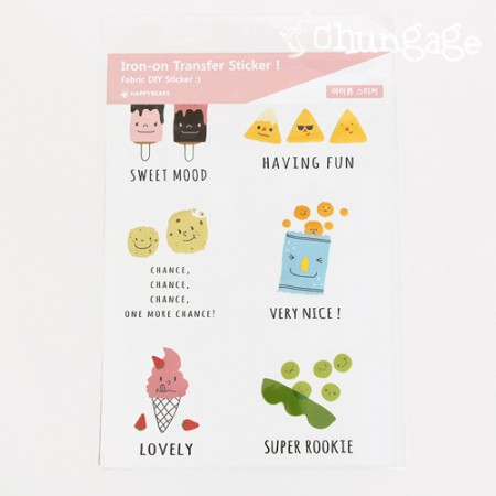 Transcription paper Iron sticker Super rookie