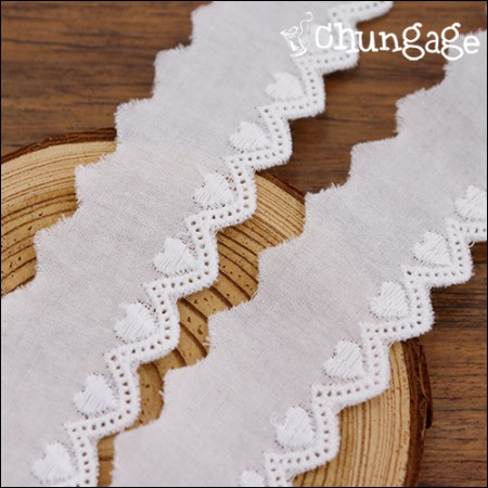 Cotton Lace Cotton 084 Little Heart (2 kinds)