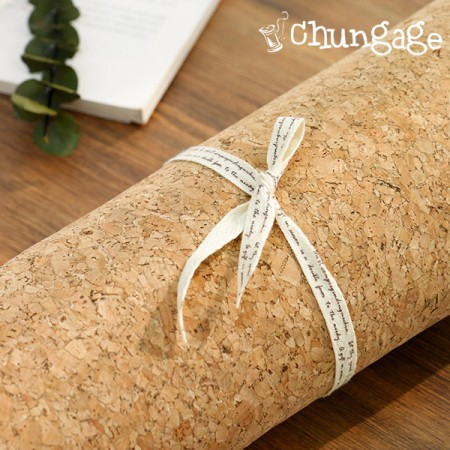Large-cork fabric) Natural Cork