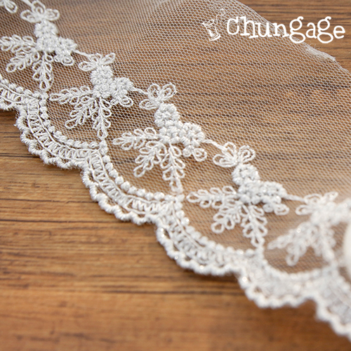 Mesh Lace Mesh048 Silver Bell Gifts