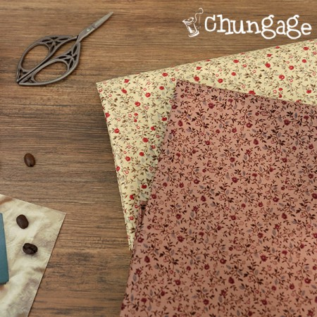 40 su twill) Mien flower (two kinds)