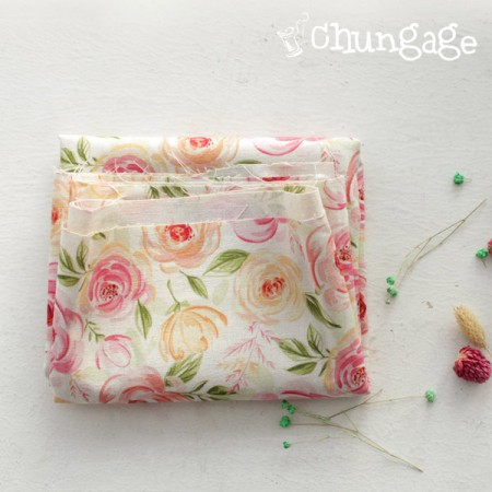 Extremely - the finest DTP11 can linen) Romantic roses