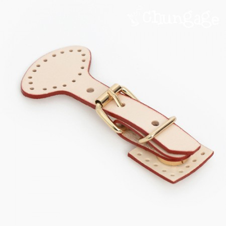 Bag buckle gold buckle Sashimi magnet button Natural Red