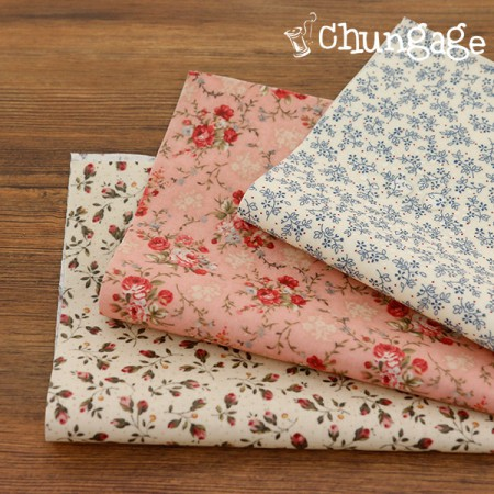 Laminate Fabric) Emotional Flower (3 kinds)