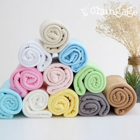 Large-terry towel) Single plain (11 species)