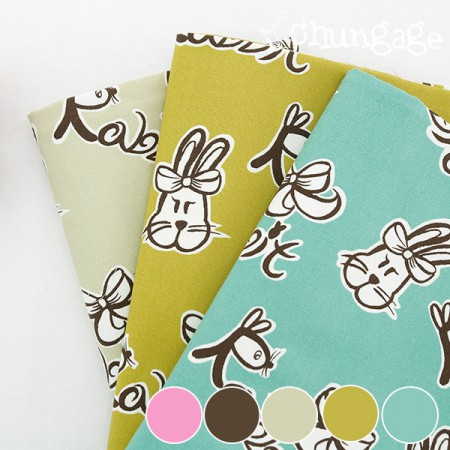 20 number oxford) Ribbon Rabbit (five kinds)