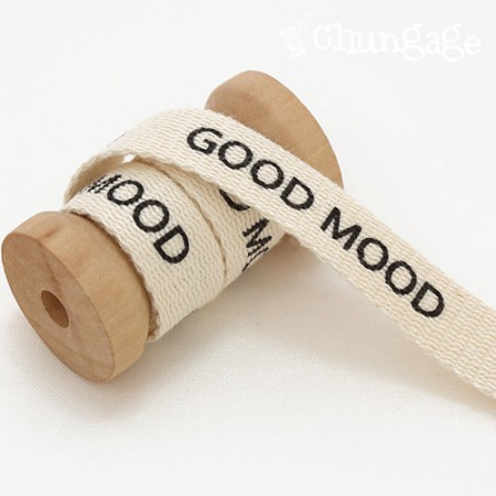 Decorative Tape Goodmord Lettering Tape 15mm Natural