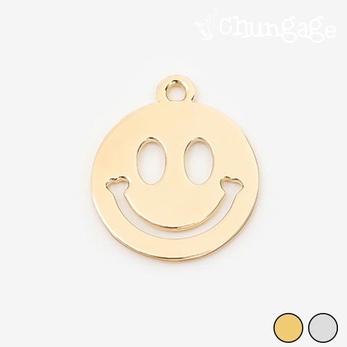 Smile Good Luck Two-sided Charm (2 kinds)