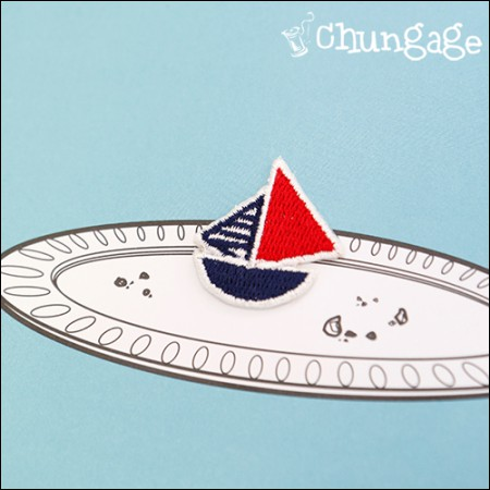 Advanced Embroidery Patch Adhesive Fans Mini Sailor [70]