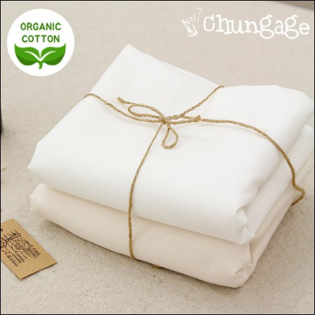 Organic Cotton Cotton Fabric 20) Pia Organic (2 kinds) [OR-001] French Embroidery Fabric