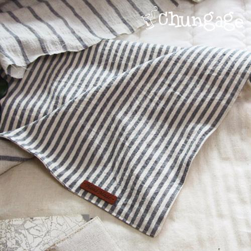 Large - Bio Washing Linen Dye) Natural Gray 4mm