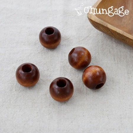 Macrame Material Macrame Seal Wood Beads Wood Beads Wood (Brown) 20mm 25mm