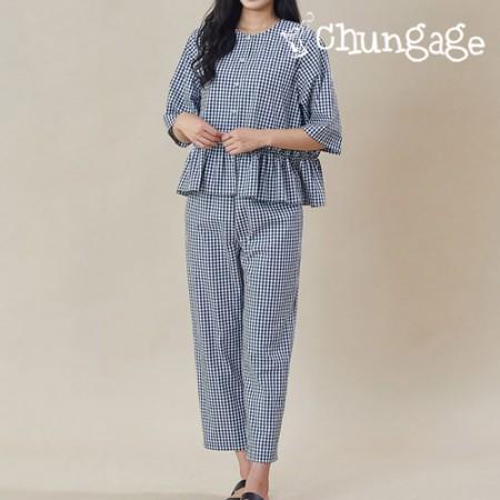 Clothes pattern women's pajamas pajamas costume pattern [P1235]
