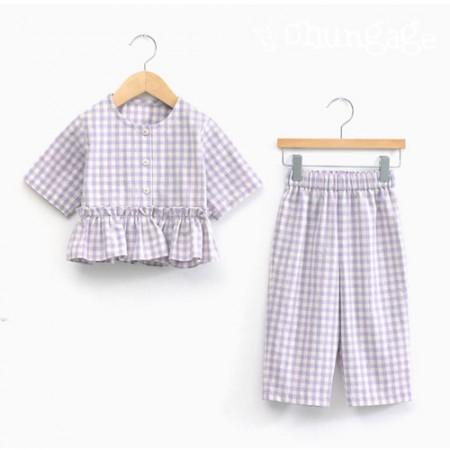 Clothes pattern children's nightwear pajamas costume pattern [P1234]