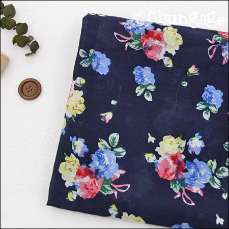 Largely-asa) Bouquet Navy