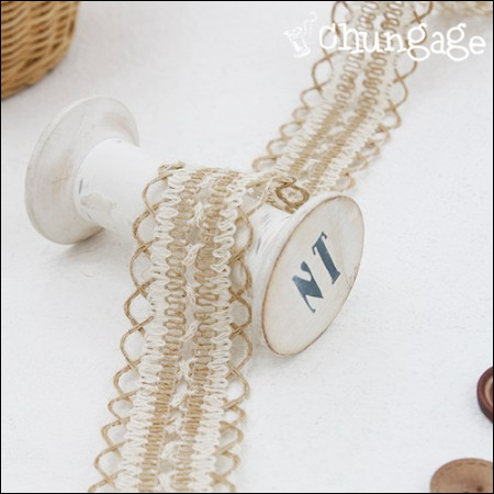 Lace Jute Lace Jute Ribbon Twist Lace String