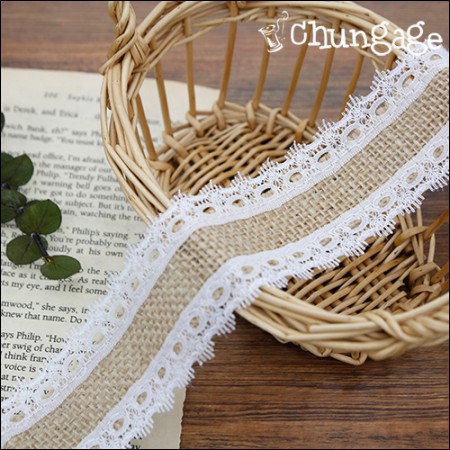 Lace Jute Lace Jute Ribbon Border Lace Cord