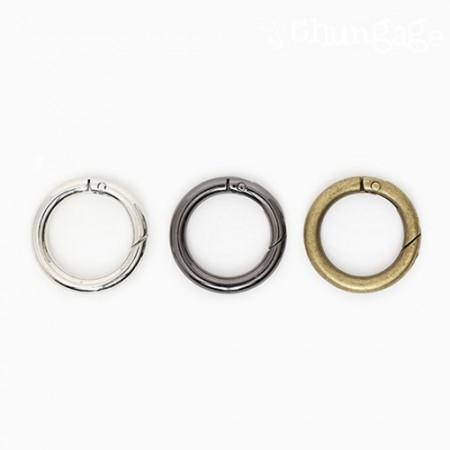 Modern open key ring Multi-purpose key ring 25mm (3 types)