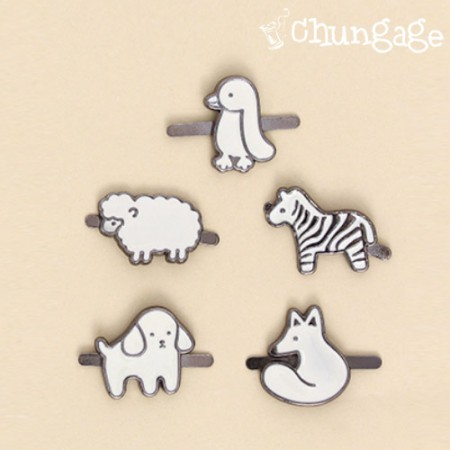 Attached type charm set Animal Friends (2 kinds)