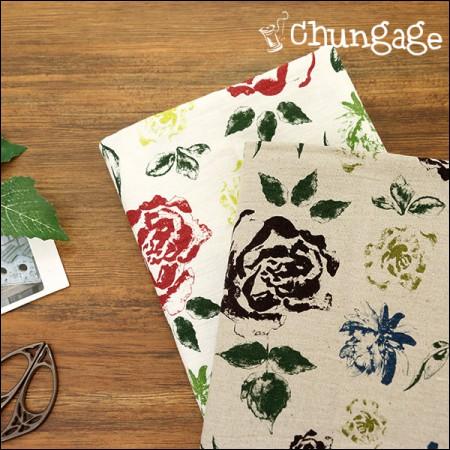Great-Worthing Linen) Vintage Rose (2 kinds)