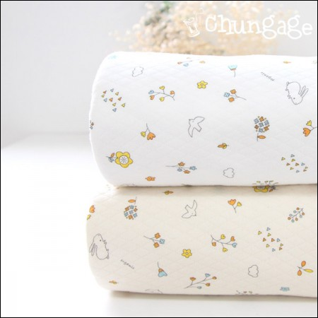 Big -40 number organic double sided quilting Daimaru) Pure daisy (two kinds)
