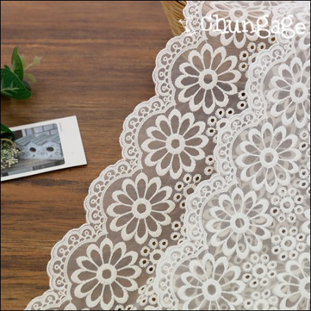 Shape Fabric lace embroidery Fabric mesh lace Rosemary (2 species)