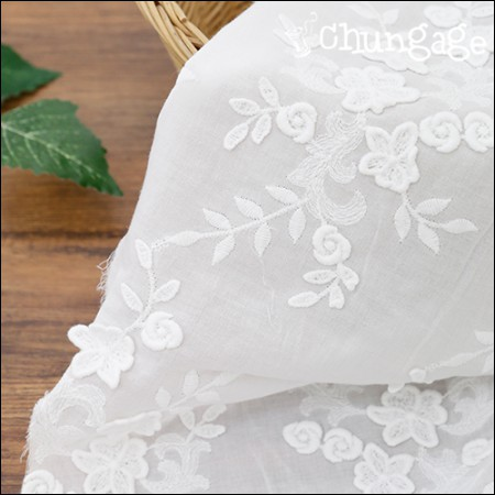 Lace cotton embroidered fabric lace fabric lace