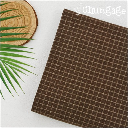 Widespread - Brushed Chocolate) Chocolate Check [A-569]