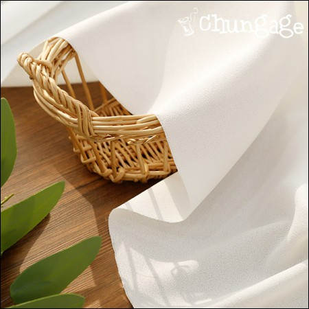 Wooldobi Fabric) Cool Ivory [A-591]