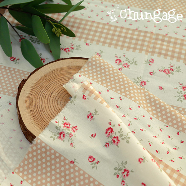 Cotton 20Horizontal Weave) Rose Beige