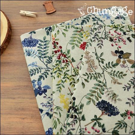 Wide 11 Surin linen) antique berry (3 kinds)