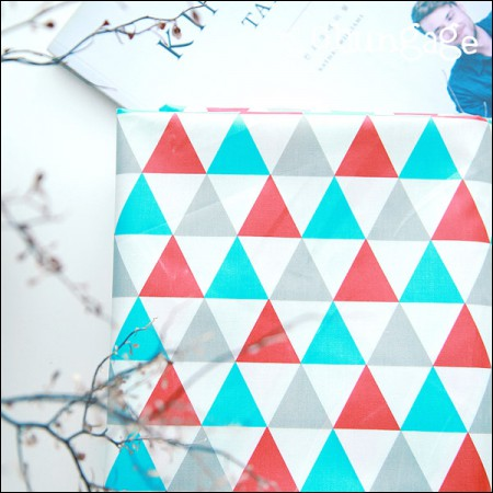 Wide Laminate) Nordic Triangle (Red Mint)