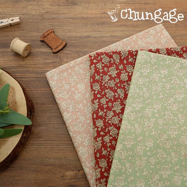 Cotton 20 horizontal weave) Rose shell (3 types)