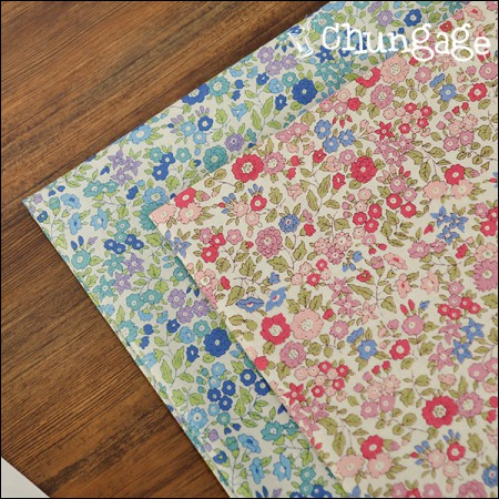 Cotton 20 horizontal weave) Bebe flowers (2 types)