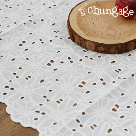 Table Runner Cotton Lace Tiffany 大 (3 types)