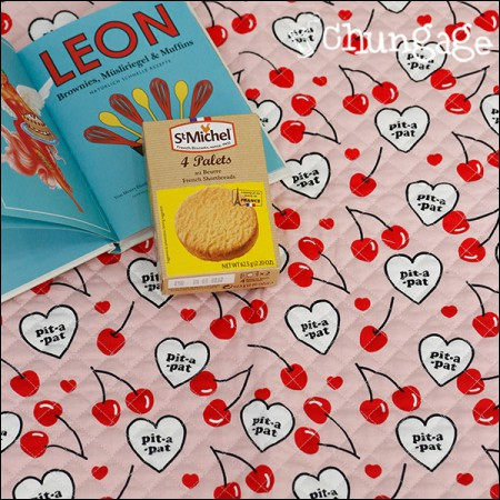 Cotton 20 horizontal woven fabric quilted fabric) heart signal