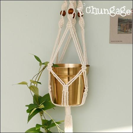 Macrame DIY Package Set Plant Hanger Set
