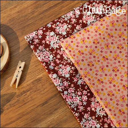 Cotton 20 horizontal weave) Loa flower (2 types)