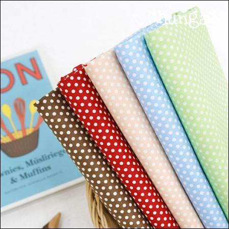 Cotton 20 horizontal weave) Season dot (five kinds)
