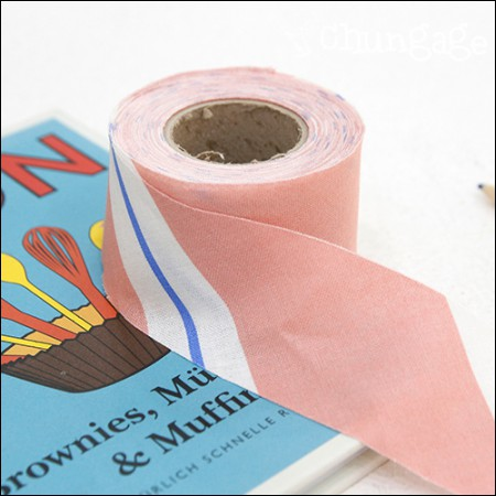 Bias 20Horizontal Weaving Roll Bias Loveline Peach 4cm