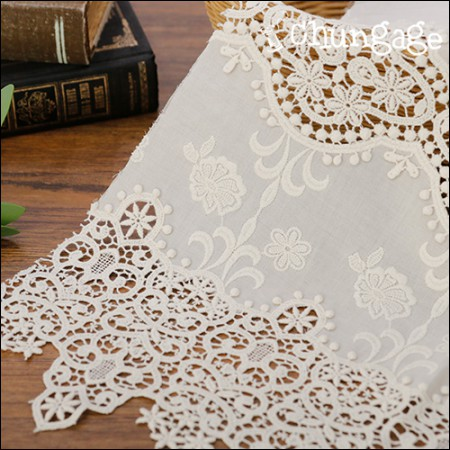 Cotton lace Hershey Cotton Patch Lace (2 types)