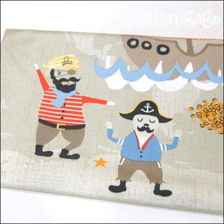 Wide-High Density Semi-Micro Fabric) Pirate Ship