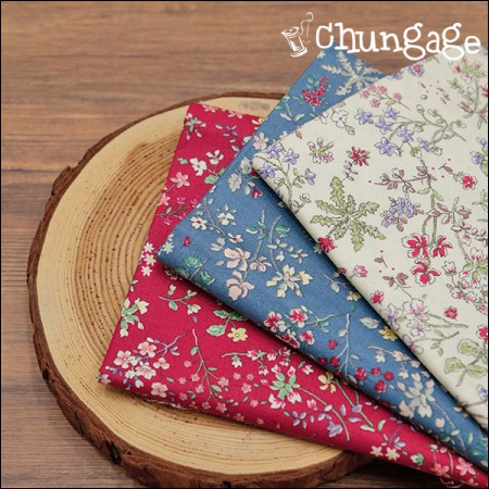 Cotton 20 horizontal weave) Dandelion flower garden (3 types)