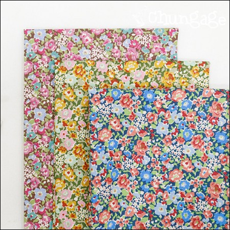 Cotton 20 horizontal weave) Wall flower (3 types)
