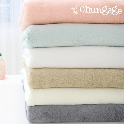 Wide double-sided mink fabric, Laneige 6 types