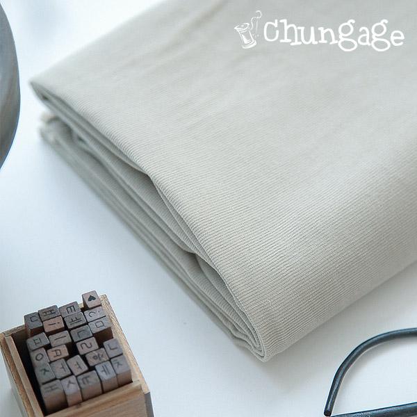 Wide-Zangolden) corduroy plain fabric softbeige