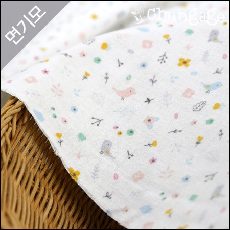 Cotton brushed microfiber fabric) dorothy